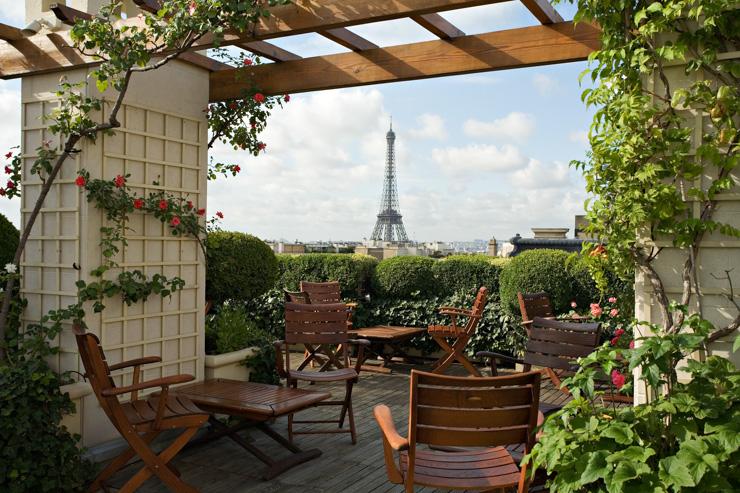 Hotel Raphael Terrace Paris