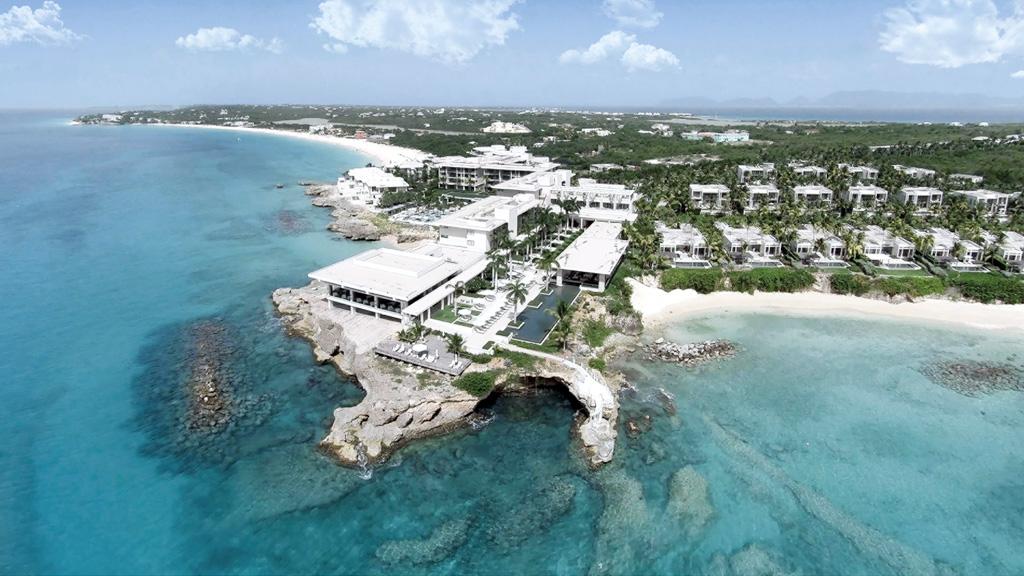 Le Four Seasons Resort Anguilla a ouvert le 20 octobre dernier après avoir subi rénové partiellement ce qui était autrefois le Viceroy Anguilla