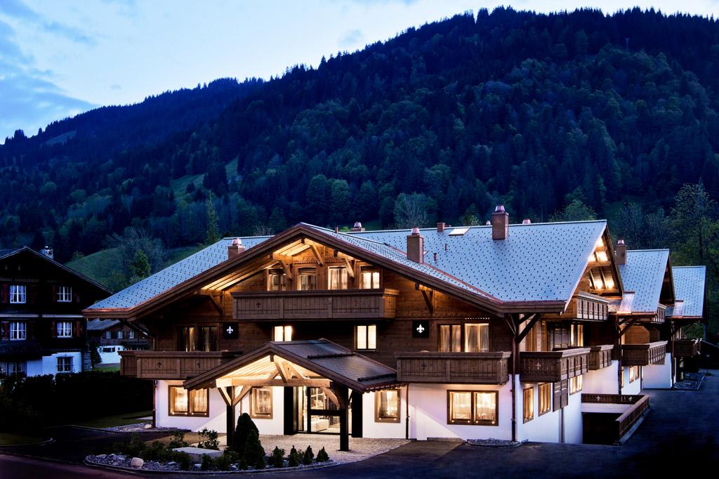 L'Ultima Gstaad est le dernier né des hôtels de très grand luxe dans la légendaire station suisse