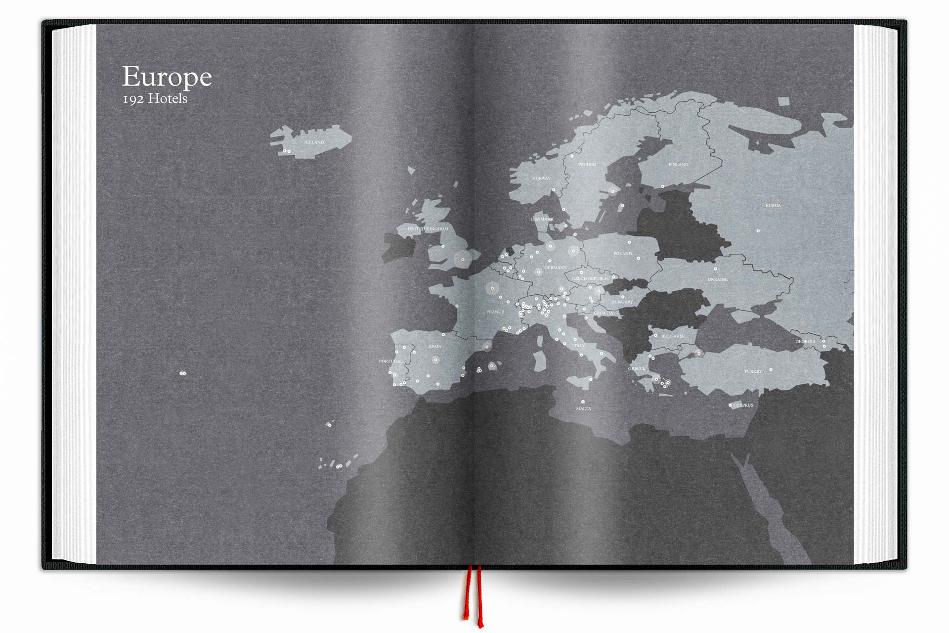 The Design Hotels Book 2017 - Map