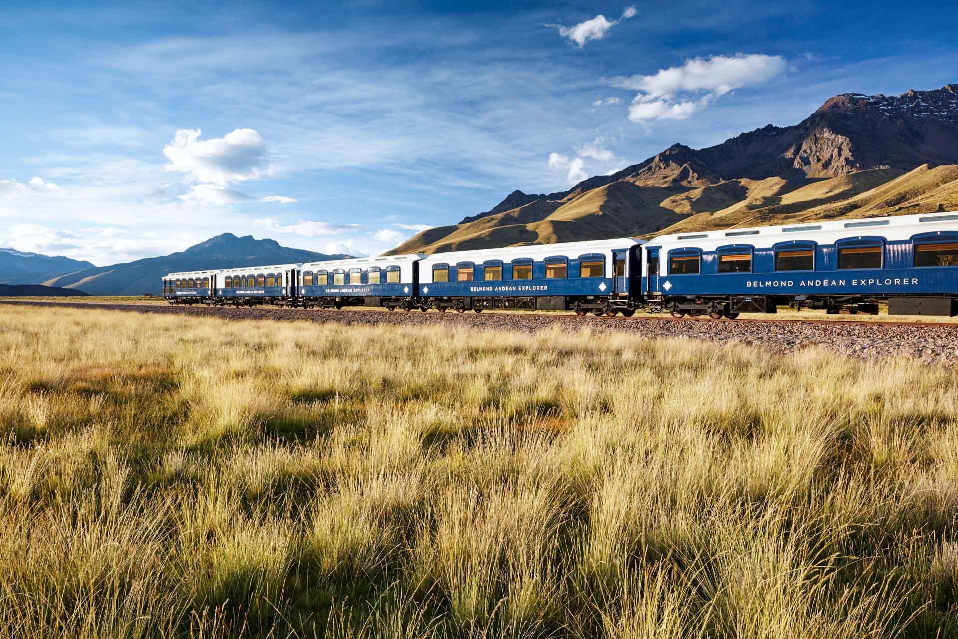 Le Belmond Andean Explorer vient d'effectuer son premier voyage entre Cuzco et Arequipa au Pérou