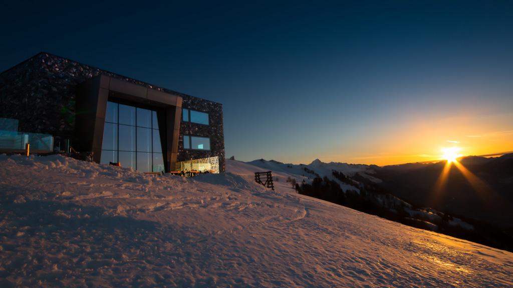 L'hôtel dispose de vues à couper le souffle sur le paysage alpin environnant