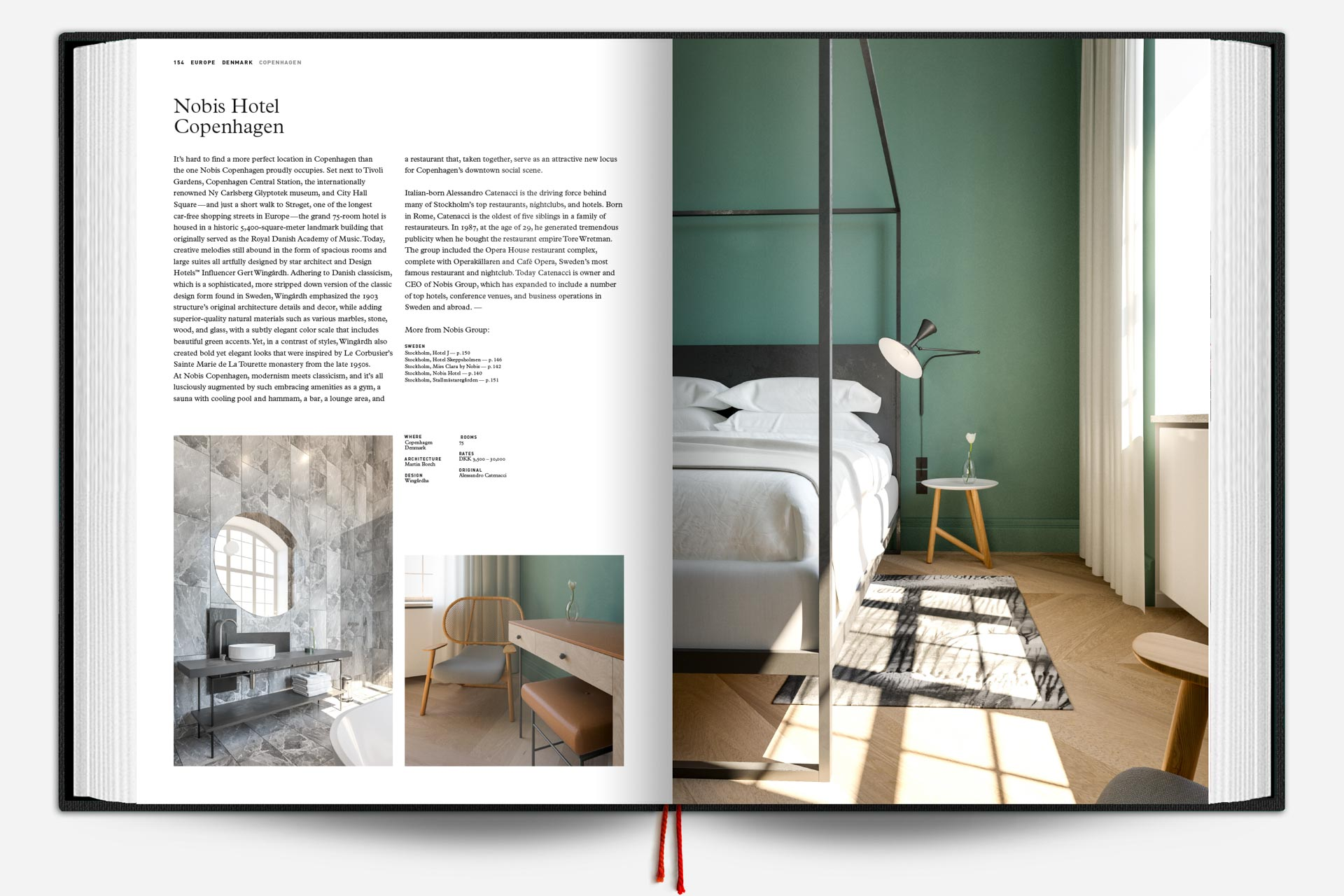 The Design Hotels Book 2017 - Double page 2