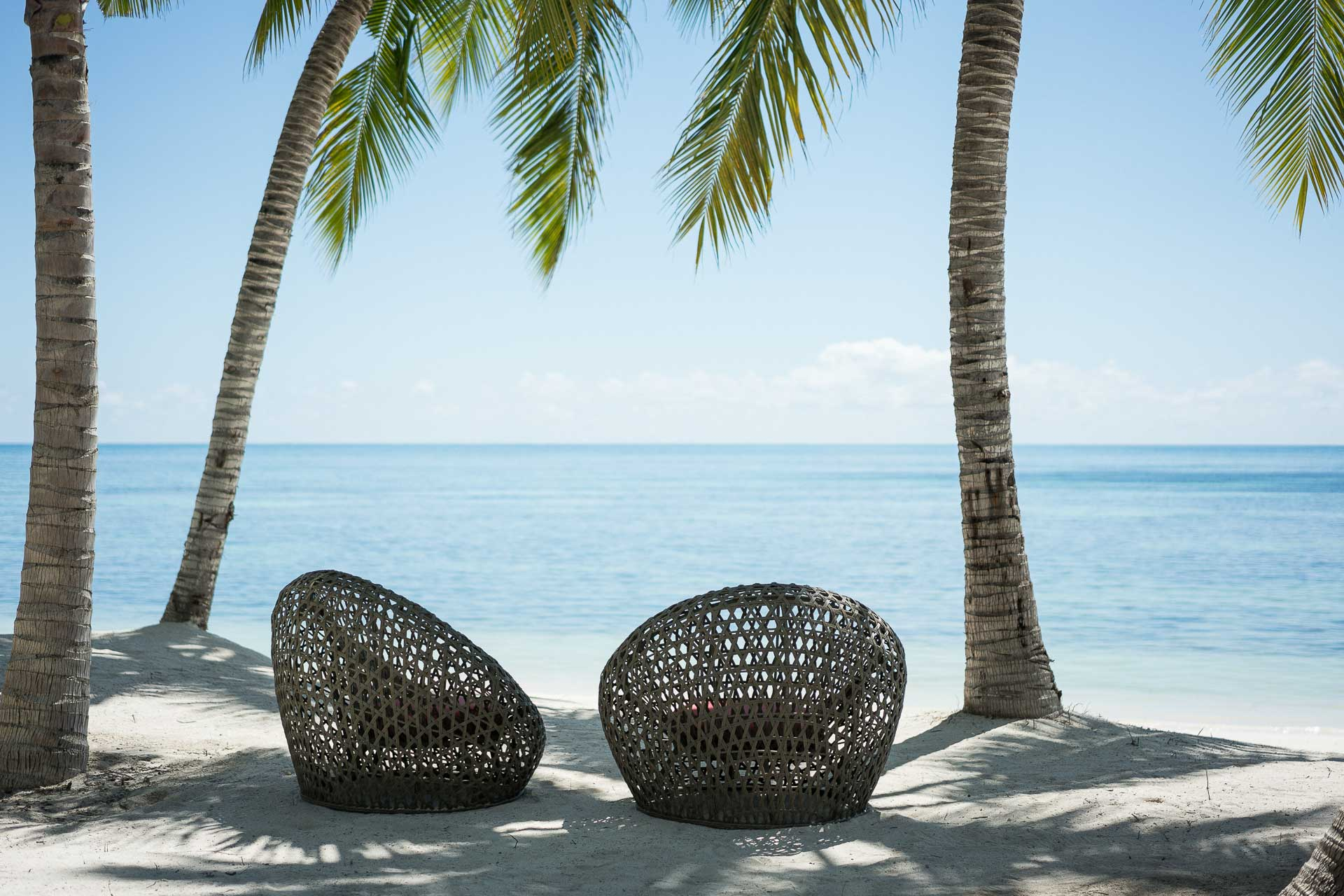 Avec ses 14 kilomètres de plages de sable blanc, ce paradis tropical de 402 hectares est l'une des villégiatures les plus exclusives de l'Océan Indien