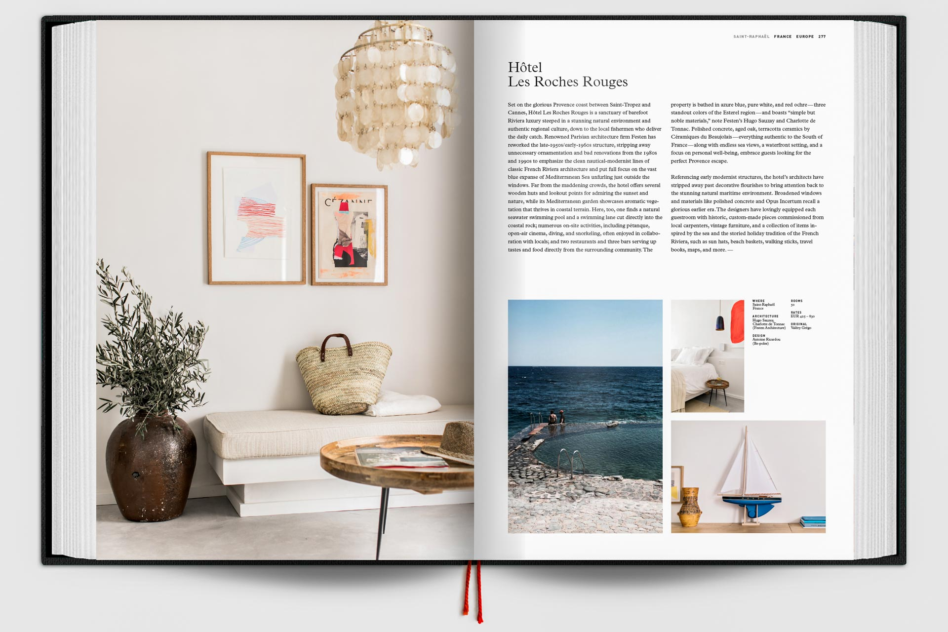 The Design Hotels Book 2017 - Double page 3