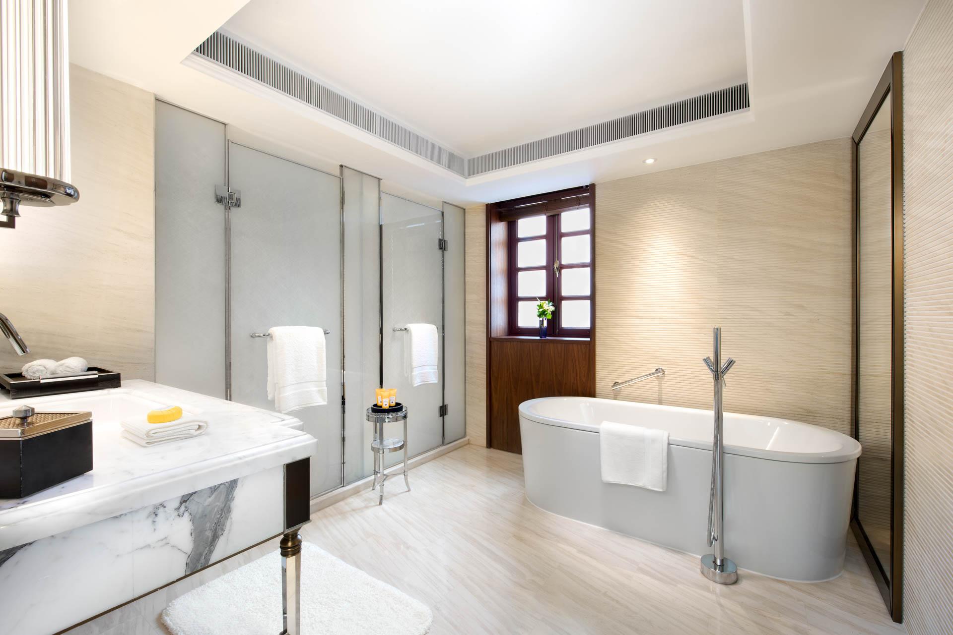 Au total, 55 villas et 40 résidences privées composent cette nouvelle enclave de luxe de la Concession française