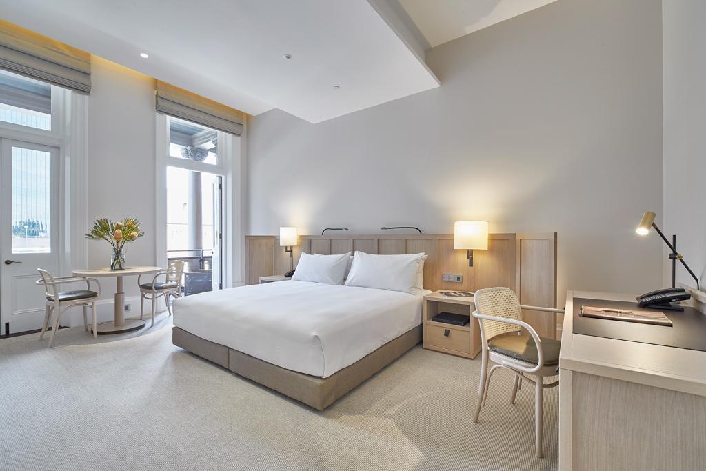 Les chambres et suites sont particulièrement spacieuses et élégantes
