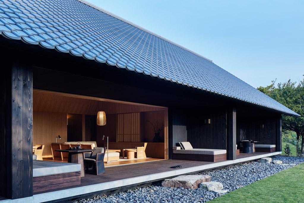 Ces villas font écho aux ryokan japonais traditionnels