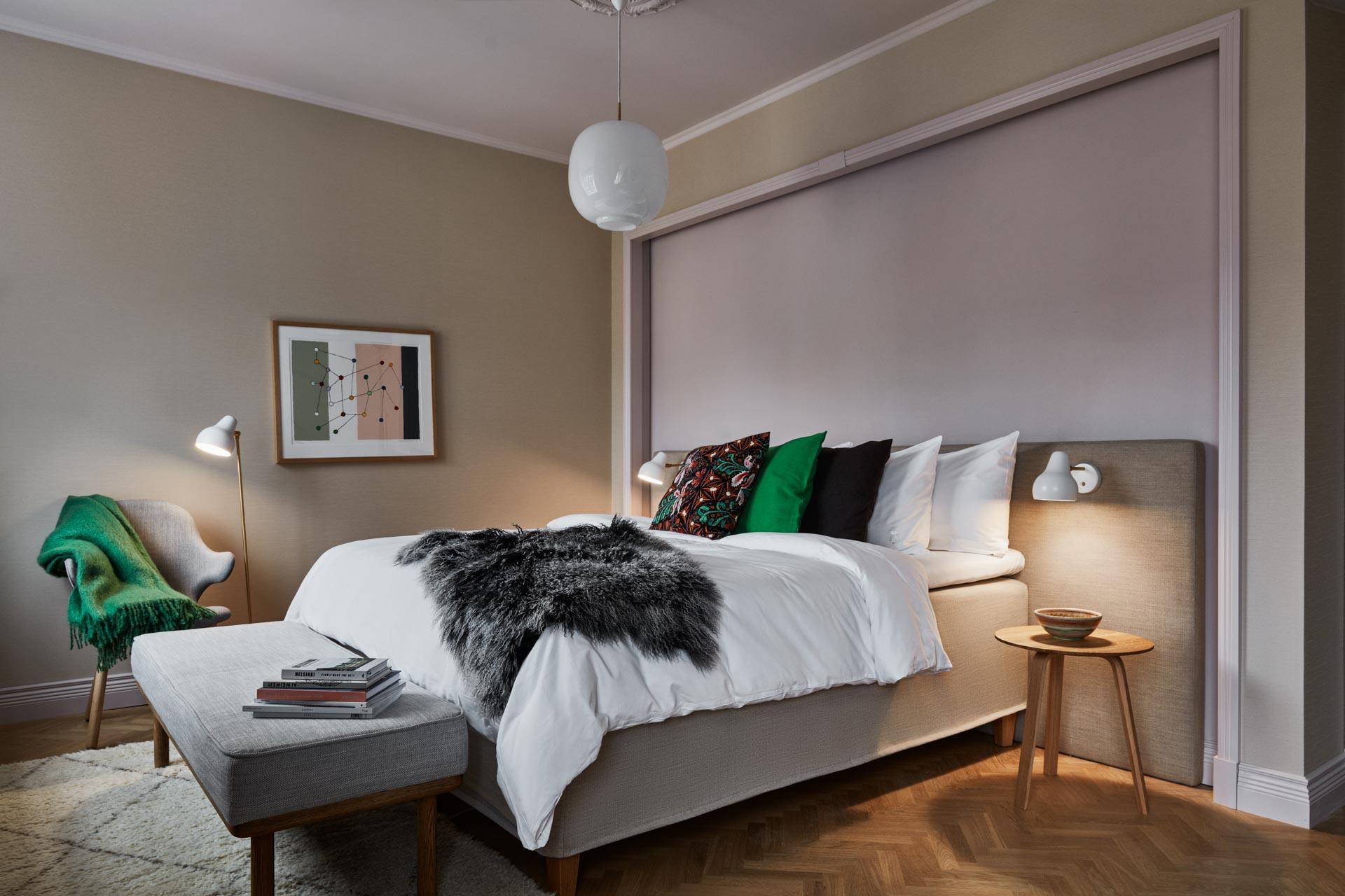 Le St. George compte 153 chambres et suites, dont la superficie évolue entre 19 et 47 mètres carrés