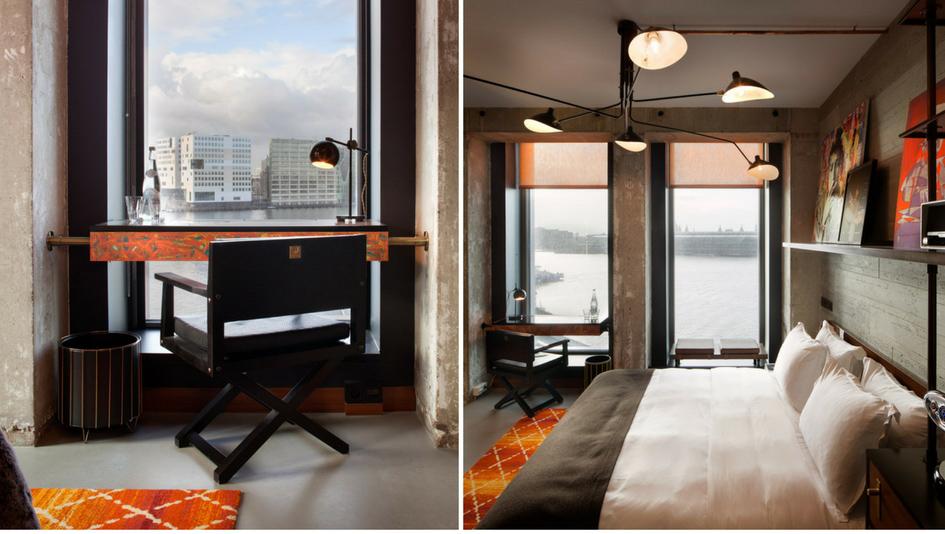 Membre du label hôtelier Design Hotels, le décor des chambres du Sir Adam est ultra léché.