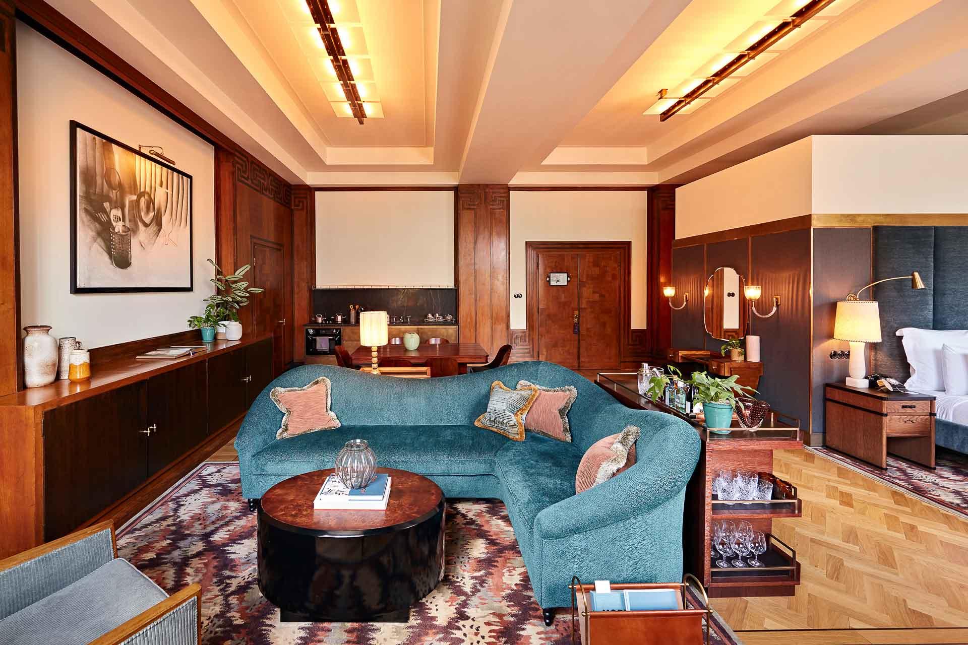 ... à la catégorie Monumental XL, véritables suites de 81 mètres carrés