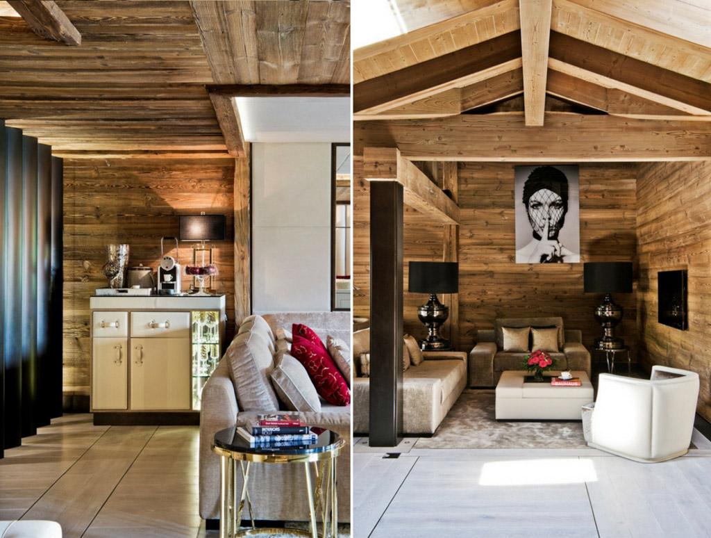 Chaque suite dispose d'une superficie minimale de 50 mètres carrés. Les résidences, beaucoup plus vastes, disposent d'immenses pièces à vivre