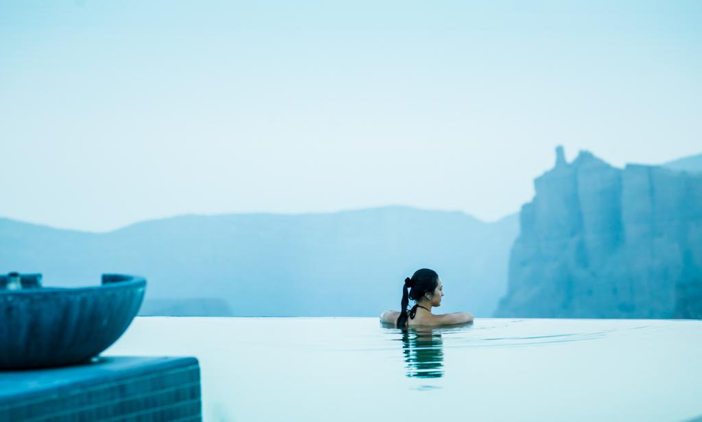 Le must reste évidemment les piscines à débordement privées à flanc de falaise