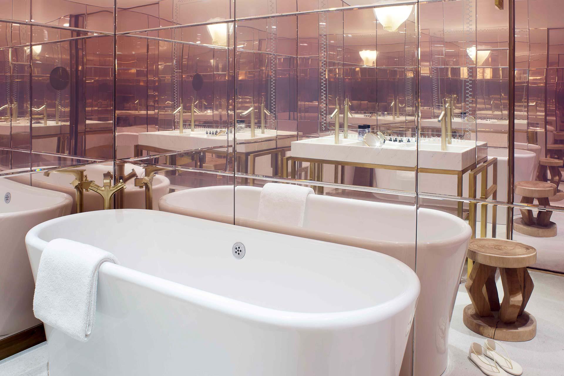 Hôtel 9Confidentiel - Salle de bain d'une Suite