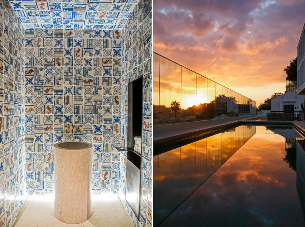 Avec sa piscine extérieure dominant la ville et son design contemporain, le Memmo Príncipe Real a le potentiel pour s'imposer comme l'une des meilleures adresses lisboètes