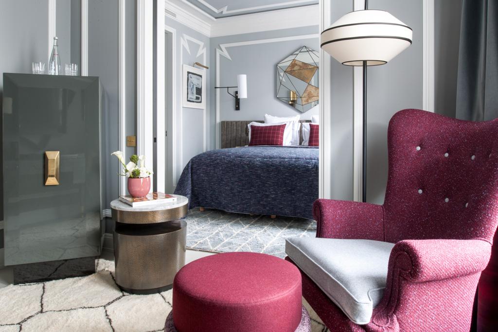 Les Junior Suites offrent davantage d'espace pour les hôtes les plus exigeants