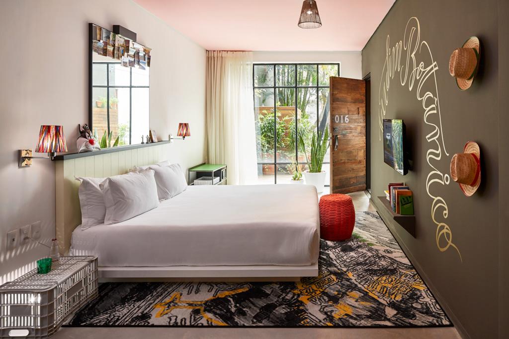Certains chambres offrent des vues dégagées sur Santa Teresa
