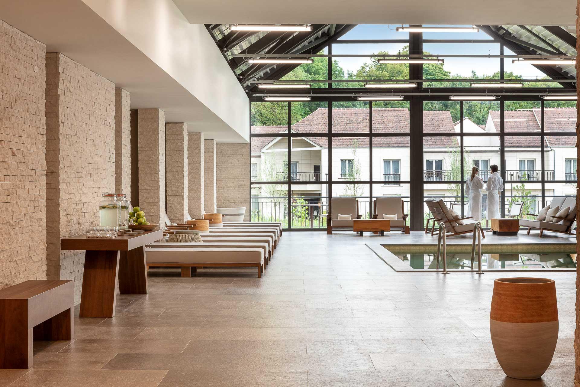 Le Cottage Spa & Wellness s'étend sur 1,200 mètres carrés dédiés au bien-être
