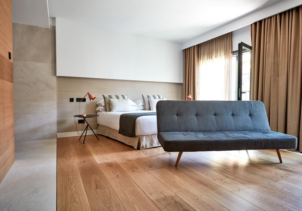 Les 6 Junior Suites sont parmi les chambres les plus spacieuses du NAKAR