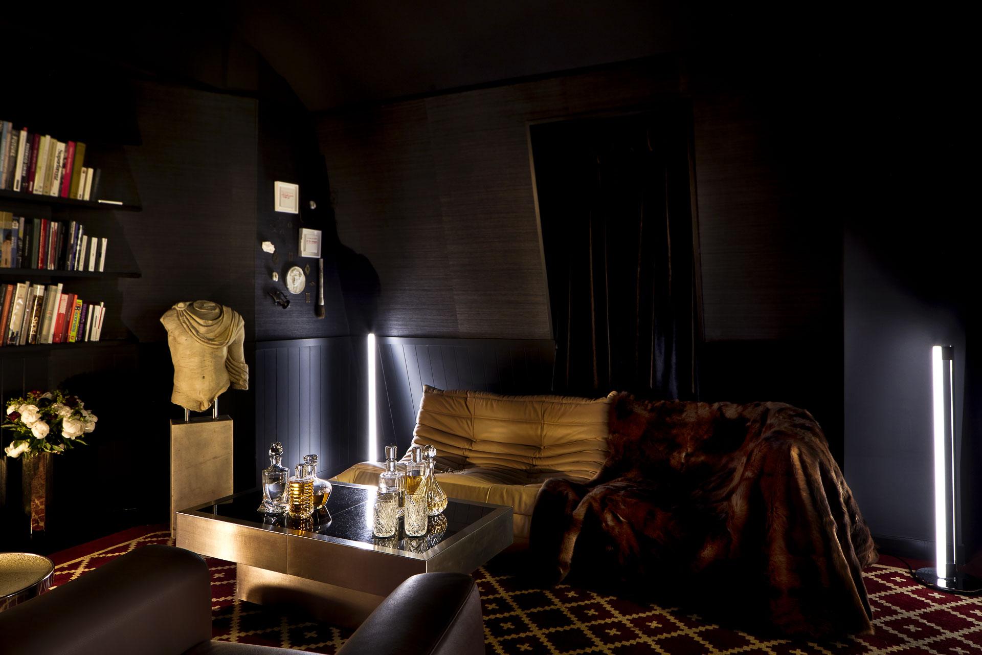 L'unique suite du Sinner est inspirée « de l'appartement de Karl Lagerfeld dans les années 80 »