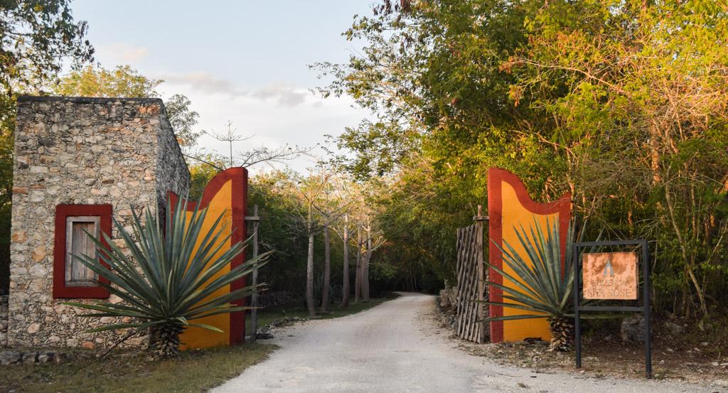 Bienvenue à l'Hacienda San José © Yonder.fr