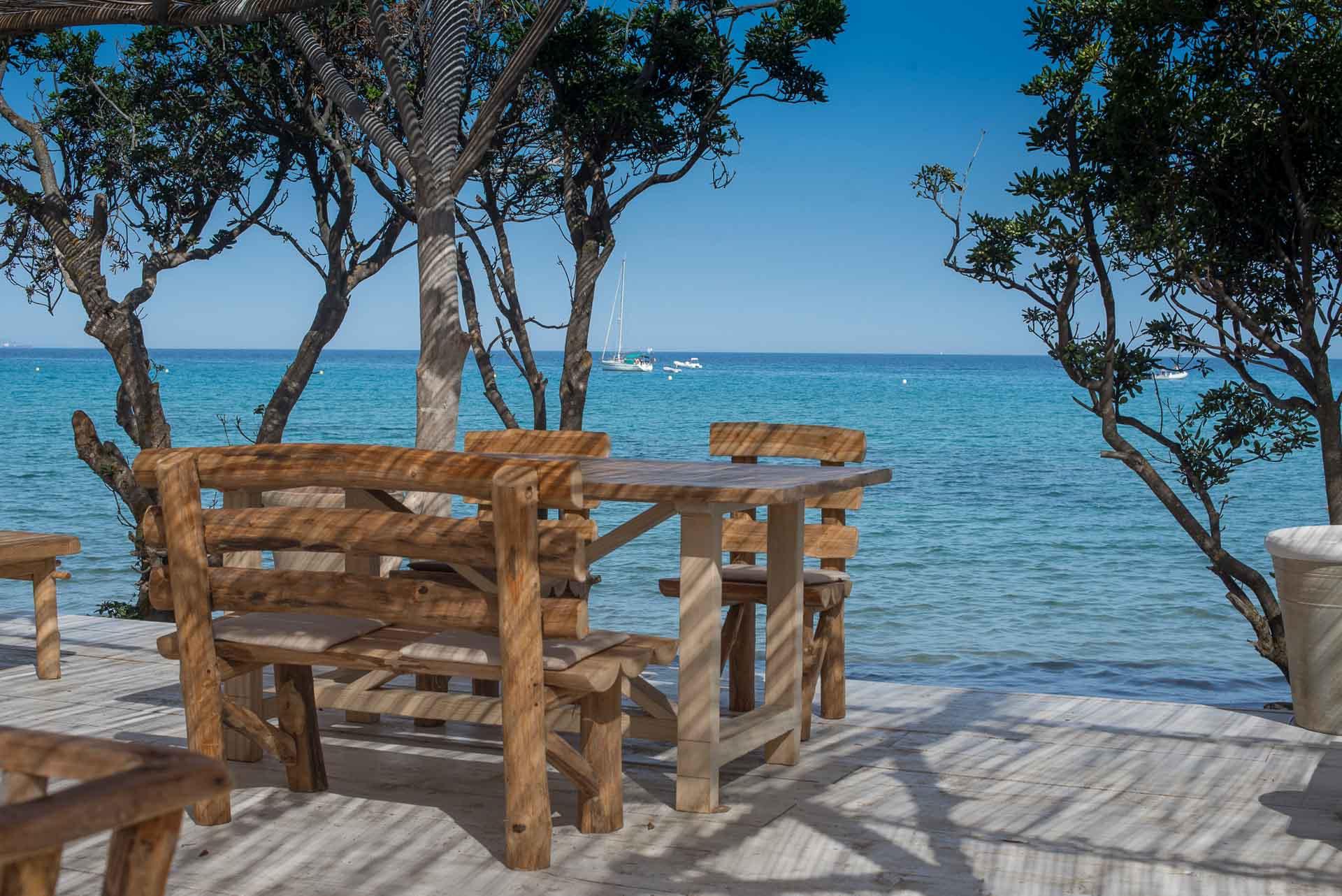 Misincu dispose également d'un second restaurant situé sur la plage d'A Spartera
