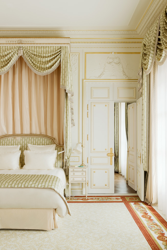 Pas question pour le Ritz de toucher à ces lieux symboliques de la grandeur historique de l'hôtel