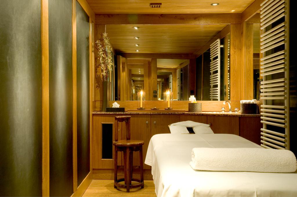 Et comme dans chaque Aman, un vaste spa est à disposition des hôtes