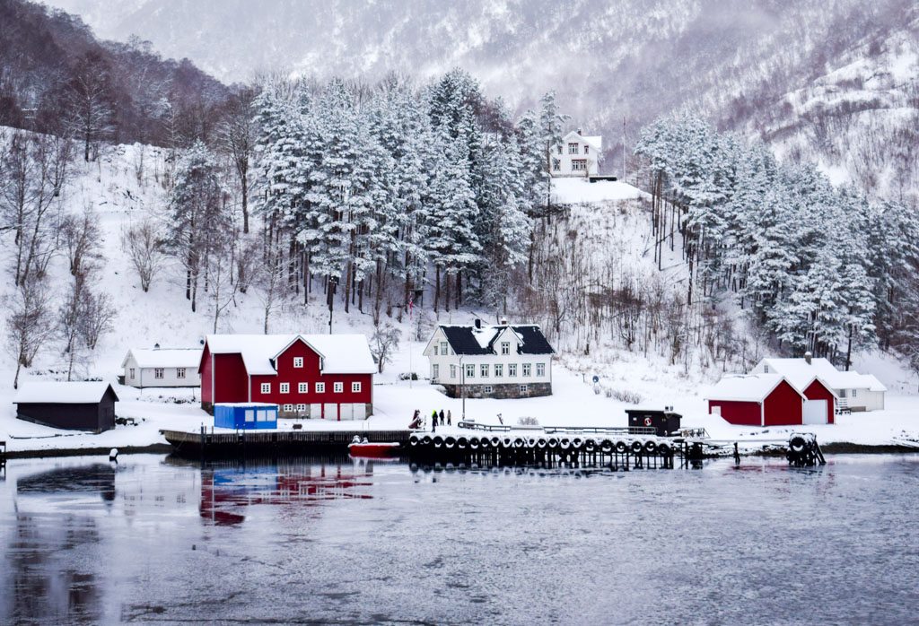 Dyrdal est l'un des villages les plus photogéniques du parcours