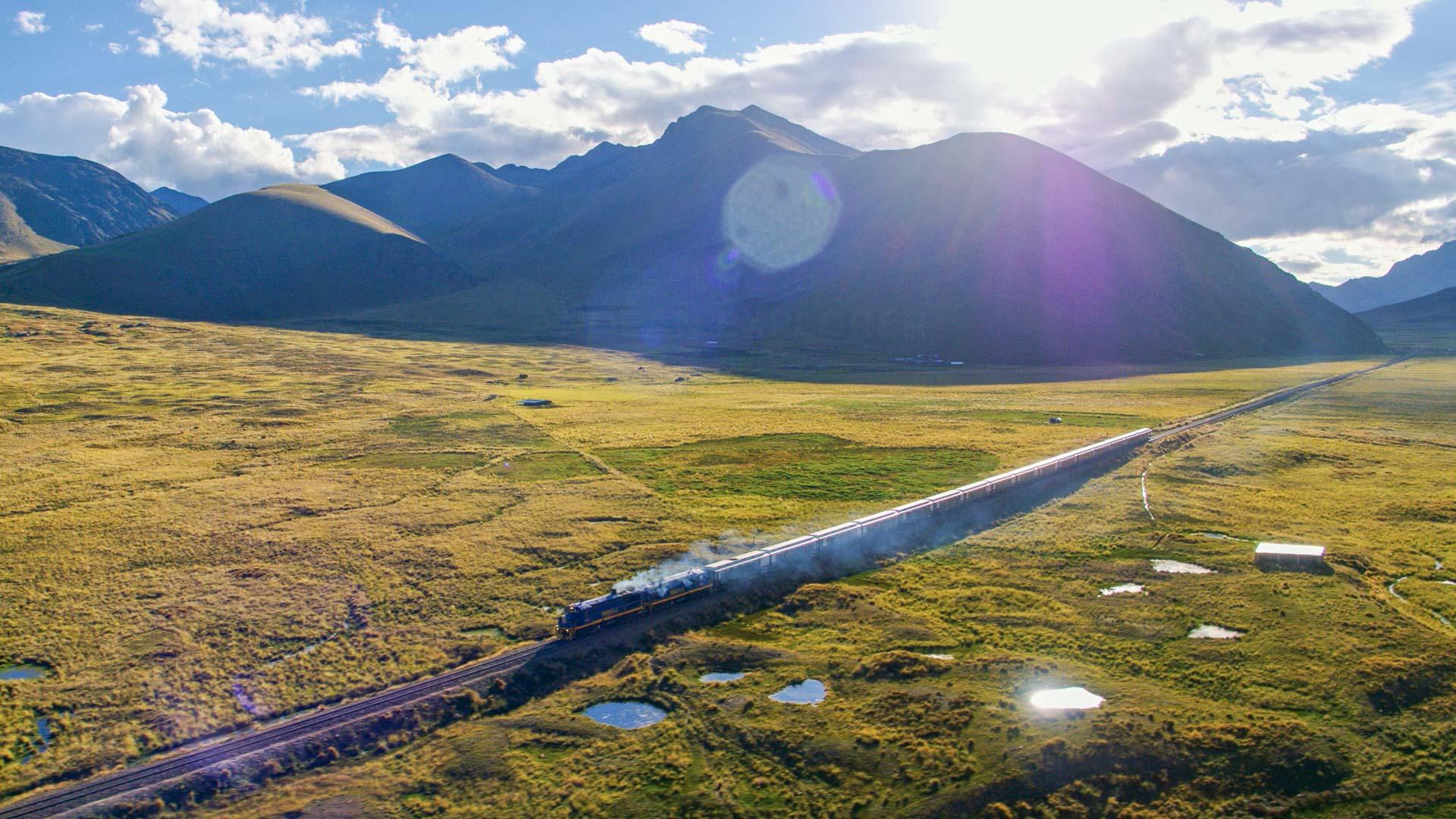 Le Belmond Andean Explorer traverse des paysages parmi les plus beaux du continent