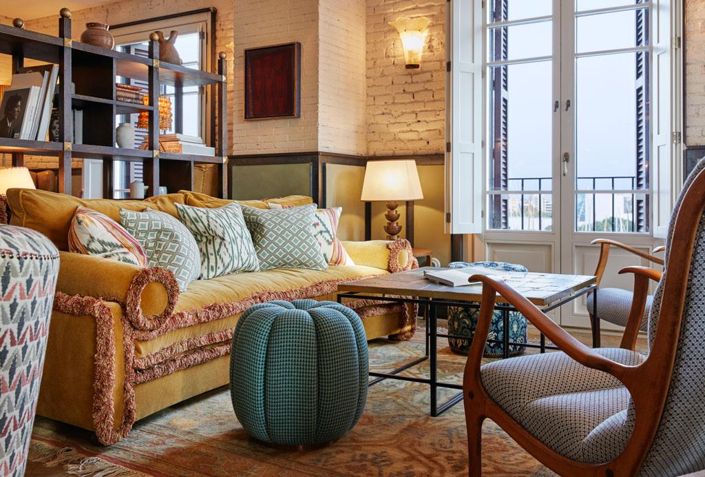 Au 5ème étage, le Club Floor permet de travailler, manger, boire, se relaxer ou de faire des rencontres