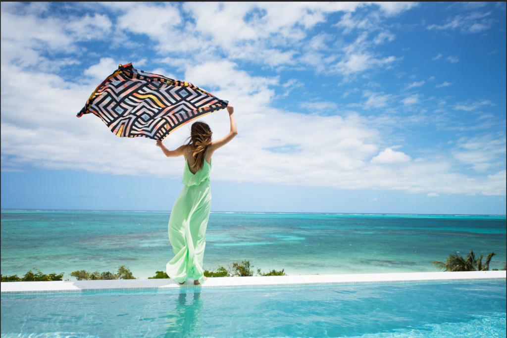 ... et de splendides terrasses pour profiter de la beauté de l'environnement