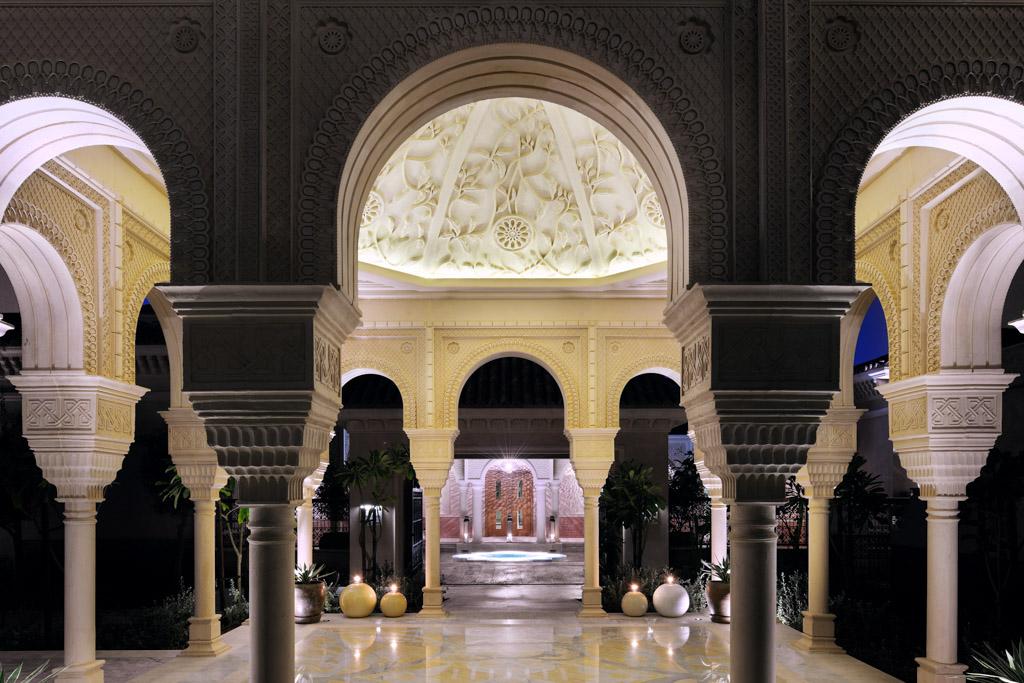 Le Spa Guerlain où nous avons pu tester un soin, est un bijou du genre