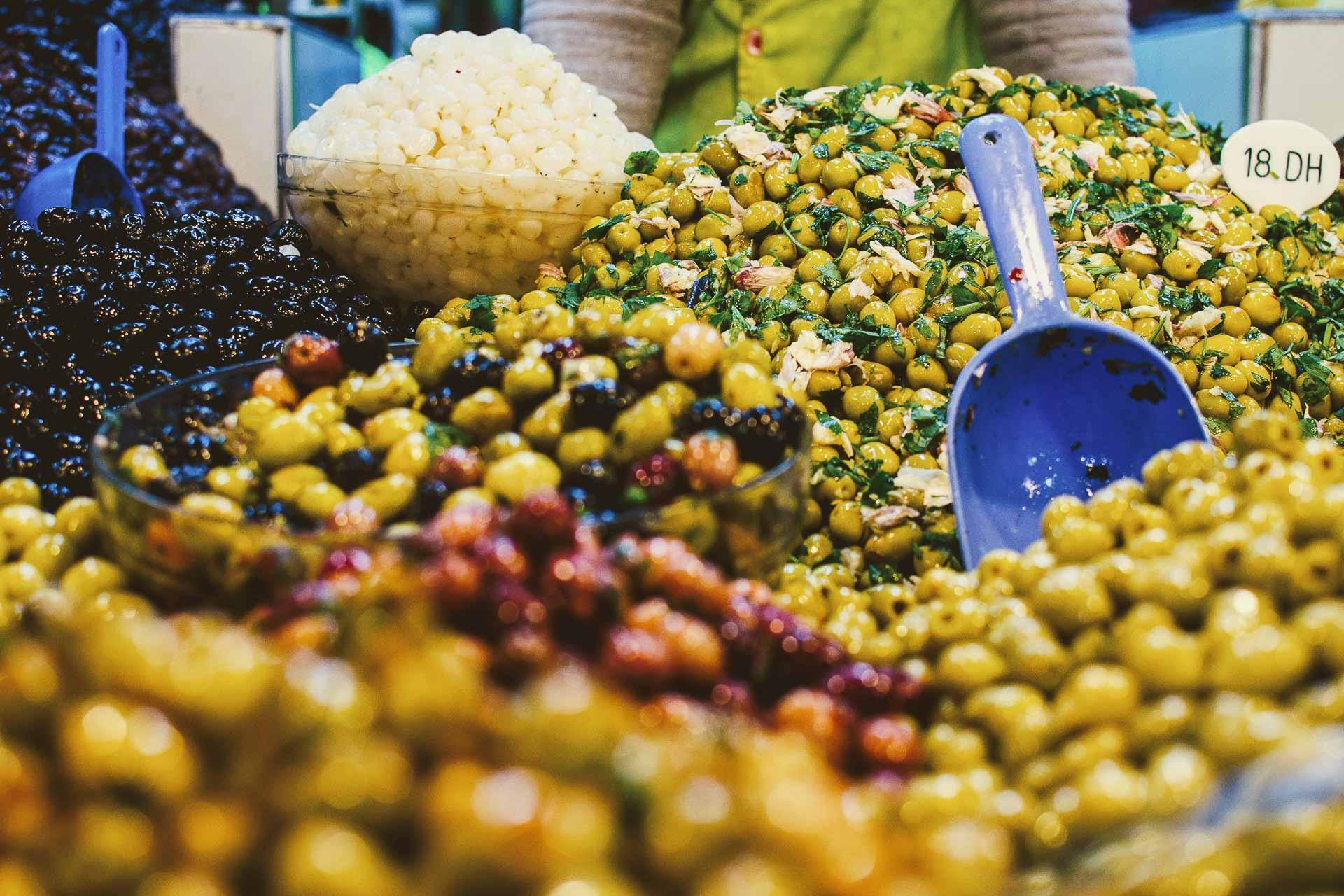 De nombreux producteurs proposent des produits de qualité dans les ruelles de la Médina © Alix Laplanche