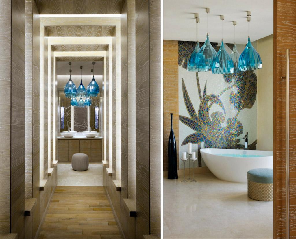 Il s'étend sur plus de 2,000 mètres carrés, comprenant une dizaine de suites et des jardins privés