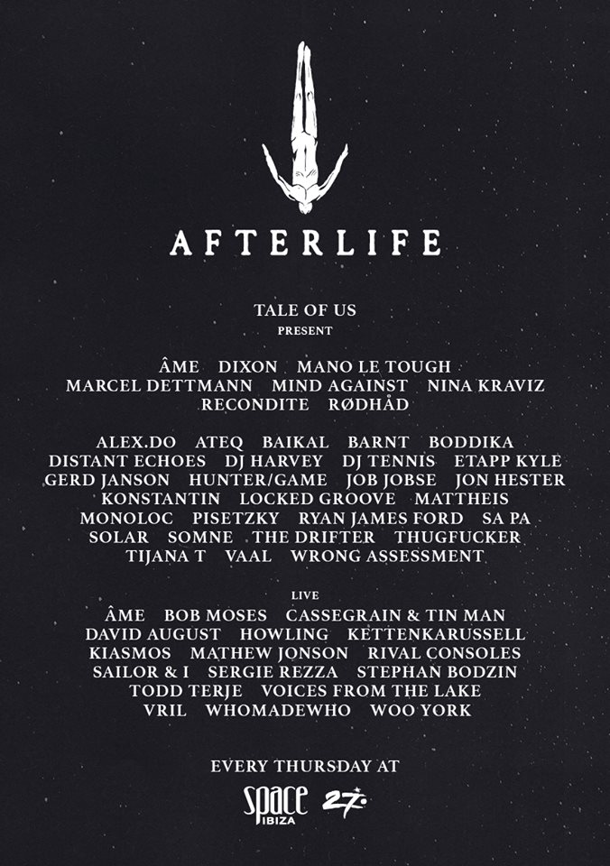 Afterlife Space Ibiza 2016
