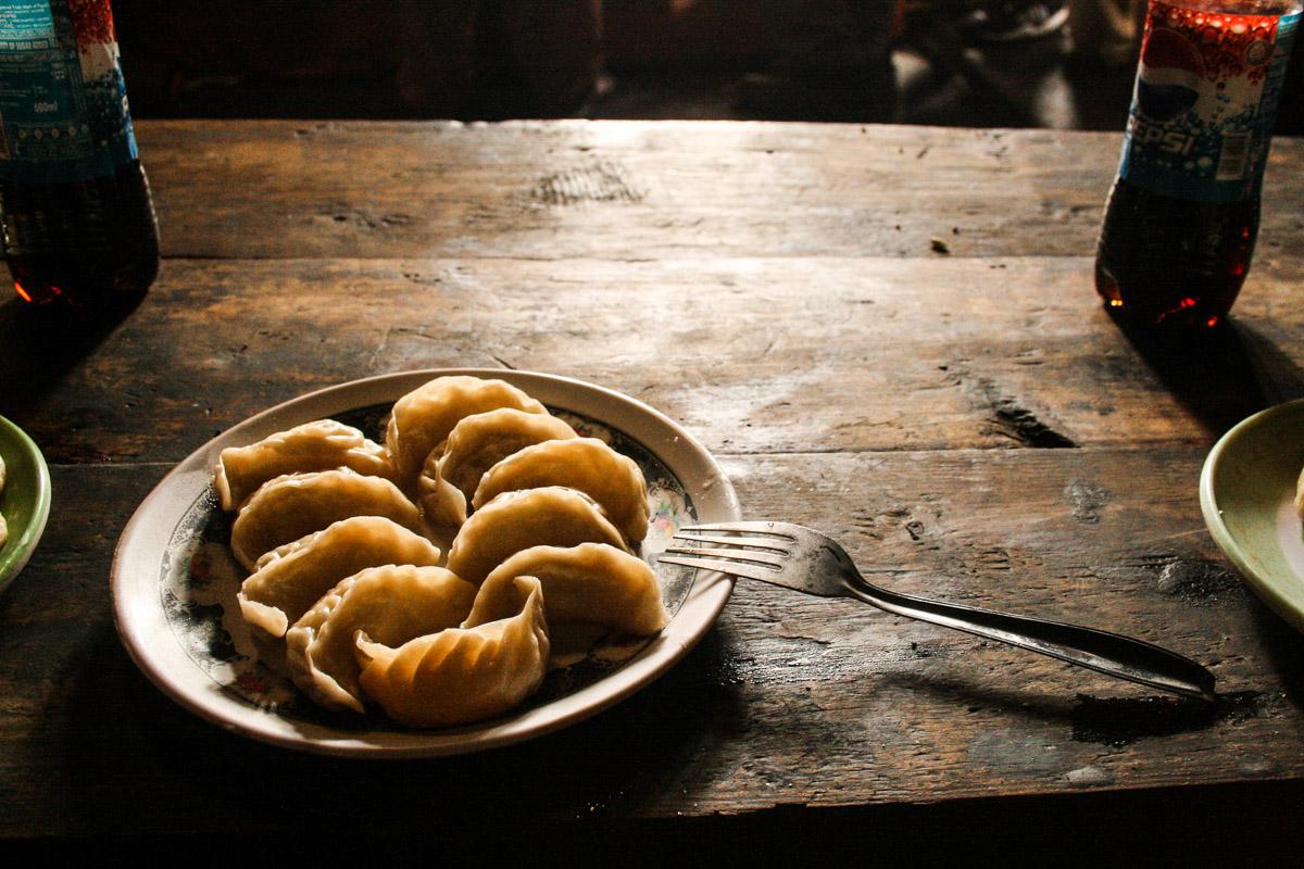 Momos, petits raviolis vapeur préparés par notre hôte dans le Parc National de Singalila | © Marion Brun
