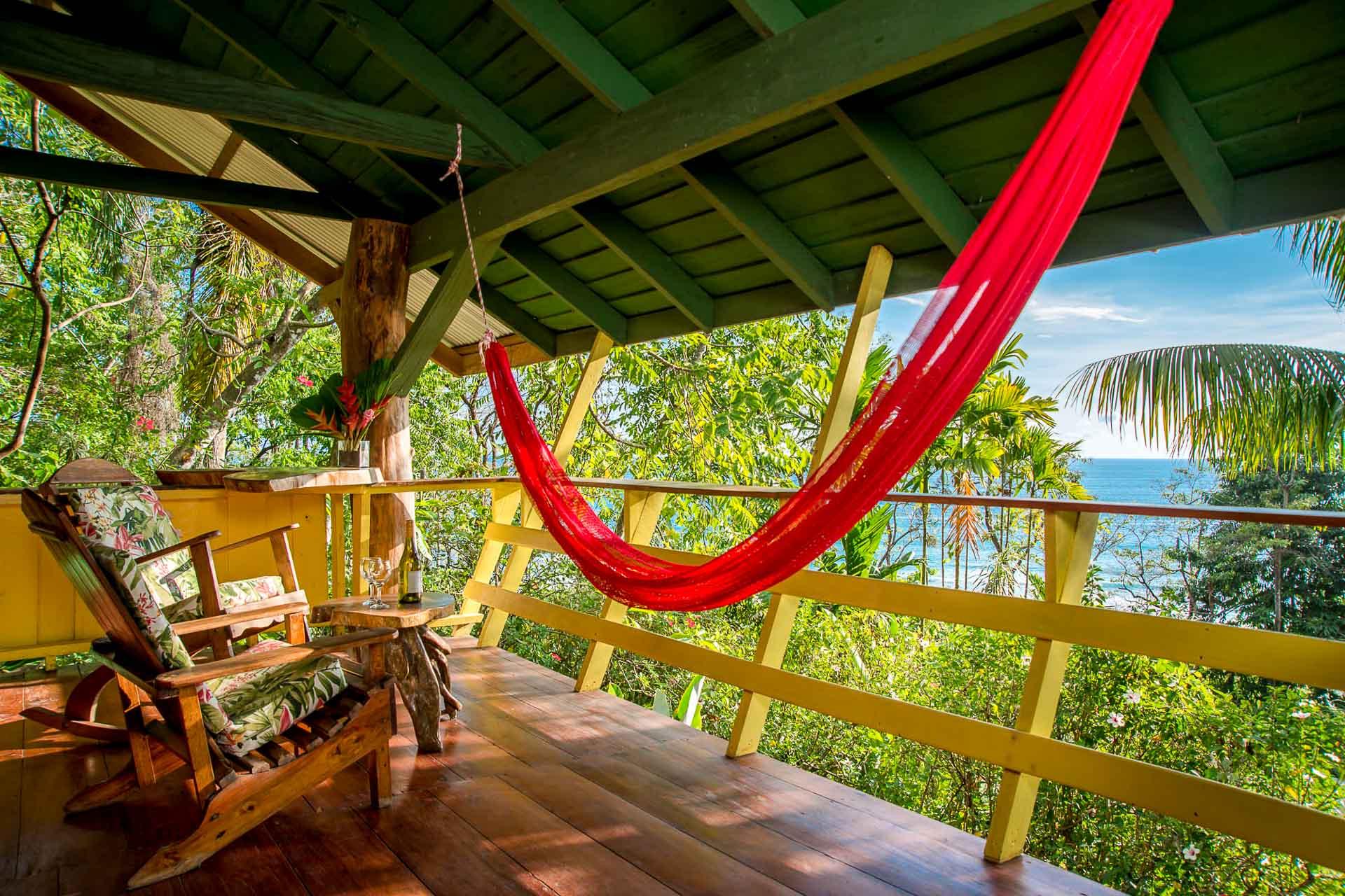 L'un des éco-lodges les plus reculés du Costa Rica.