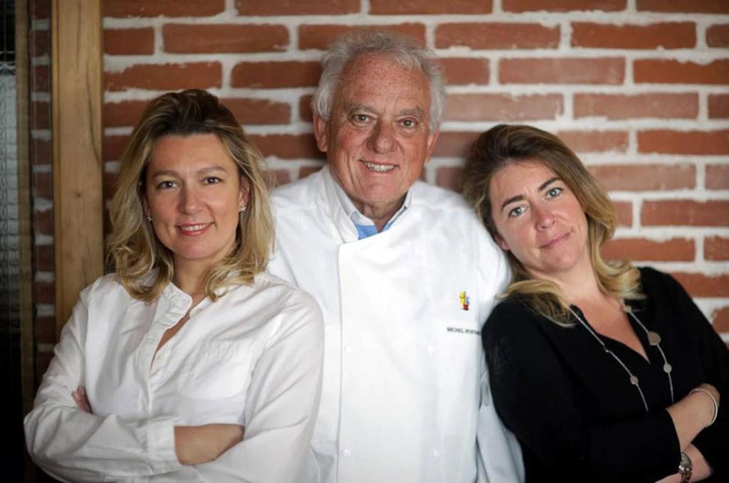 Odette, le nouveau restaurant des Rostang, père et filles