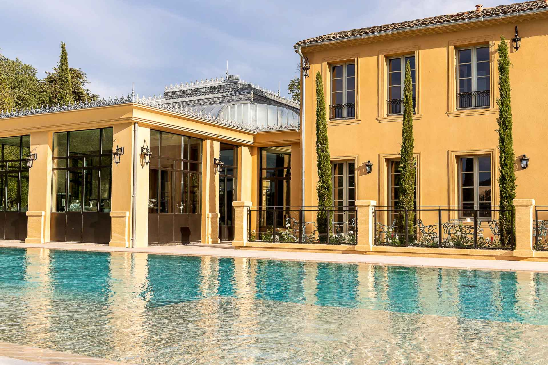 Villa Saint Ange : la piscine.