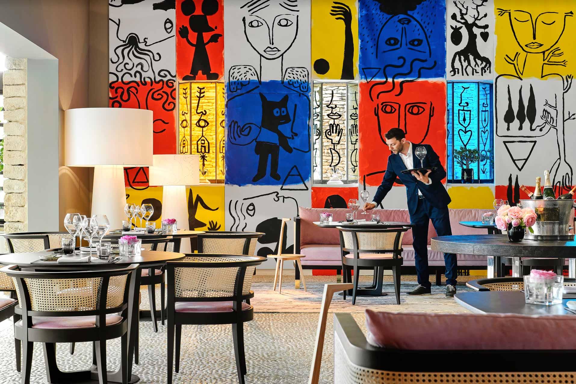 Le domaine des Andéols : un boutique-hôtel ultra design.