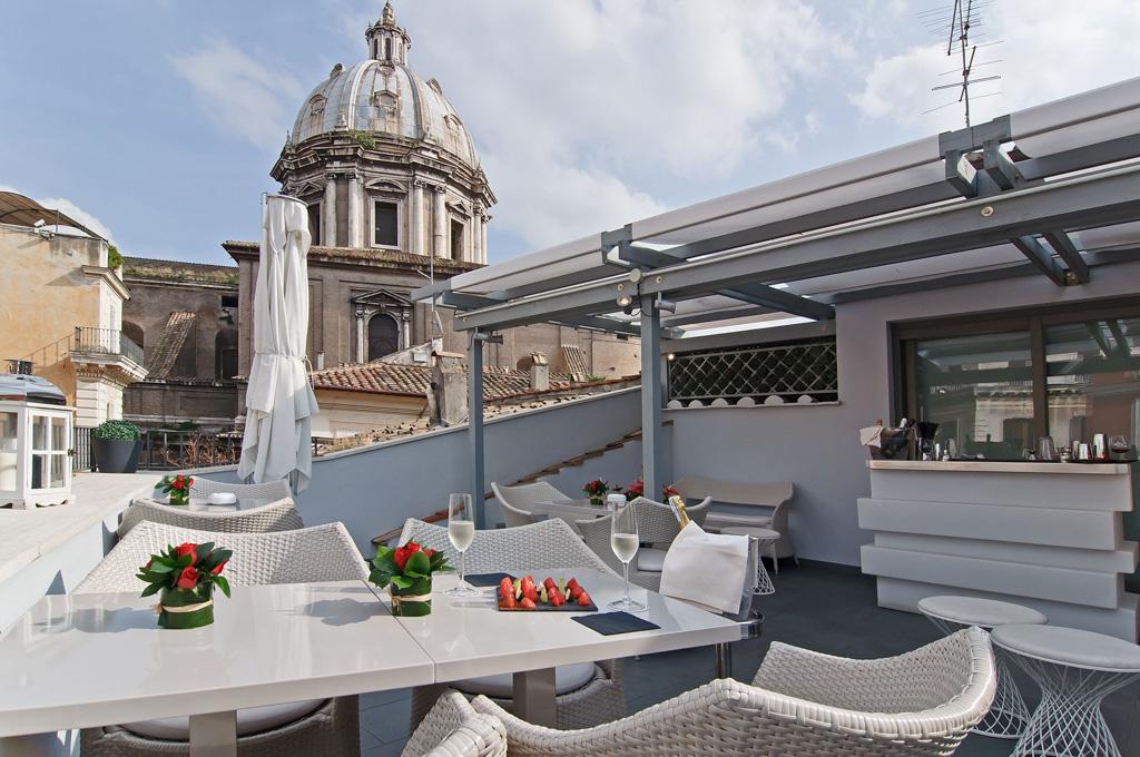 Les 20 meilleurs h tels de rome luxe charme boutique for Hotel design rome