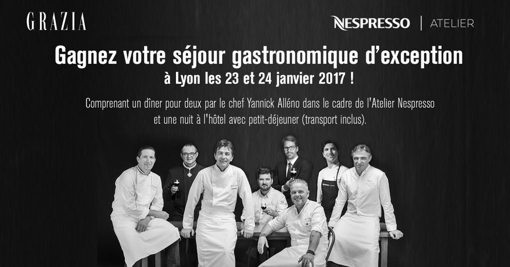 Atelier Nespresso Lyon 2017 - Jeu Grazia.fr