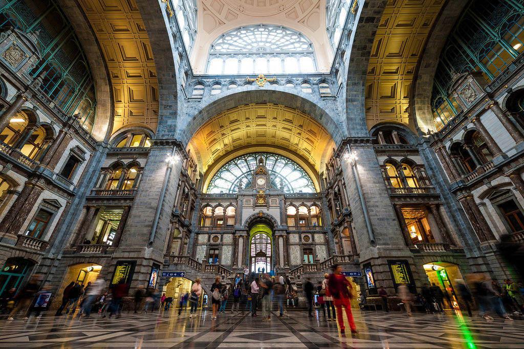 Gare Centrale - Anvers © Visit Antwerpen