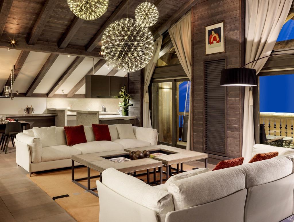 Avec au minimum 112 mètres carrés, les résidences se distinguent par de vastes espaces