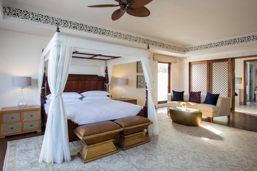 A l'intérieur de la Royal Residence est l'une des suites de prestige de l'établissement