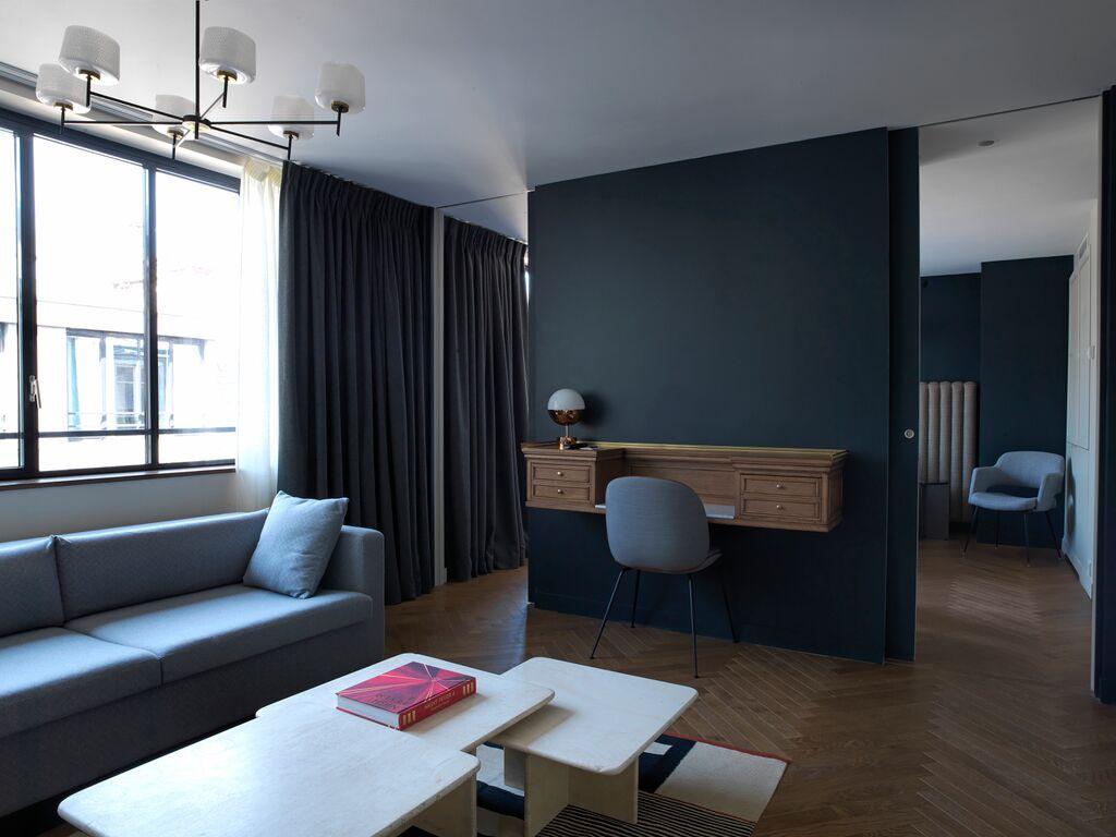 Les suites disposent toutes d'un salon séparé de la chambre
