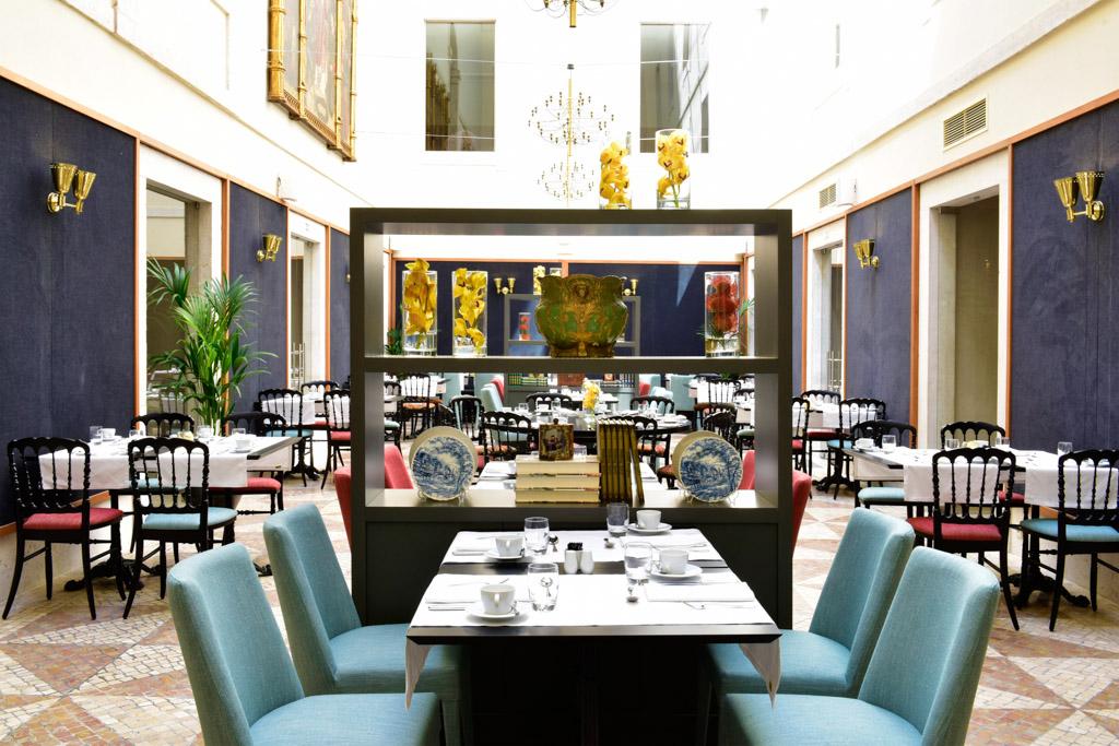 L'hôtel est également doté d'un élégant restaurant, le Lisboeta