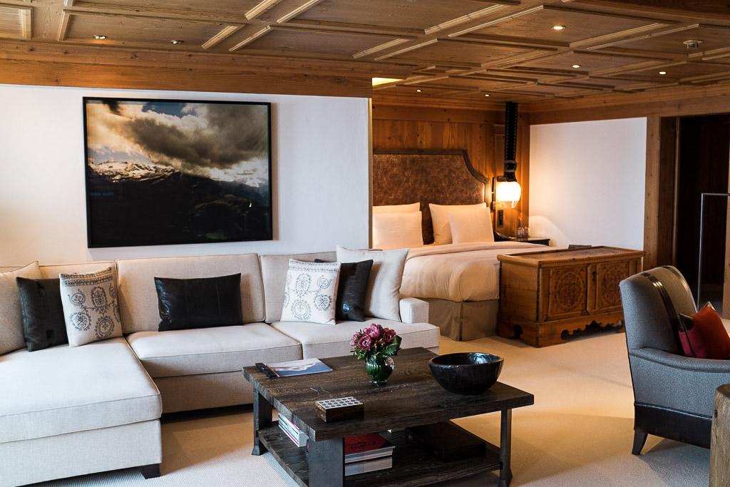 Ambiance tamisée dans le très chic lounge   © Yonder.fr