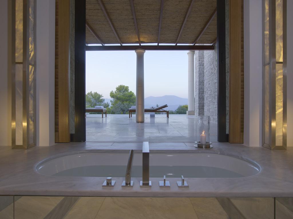 Amanzoe, Grèce - Salle de bain
